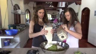 Raw Food Recipe Crab Cakes