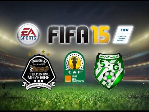 FIFA 15 Gameplay TP Mazembe vs Stade Gabesien