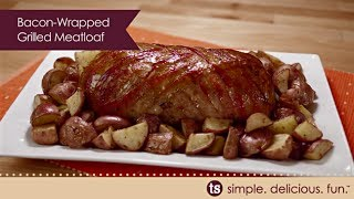 Bacon-wrapped Grilled Meatloaf