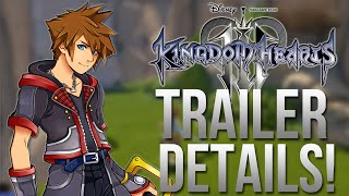 Kingdom Hearts 3 - NEW TRAILER DETAILS! Attacks, Characters and More!