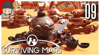 Surviving Mars - Ep.09 : FARMS, CASINOS & DEATH!