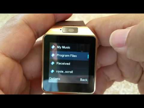 How to access songs from memory card on your DZ09 Smartwatch