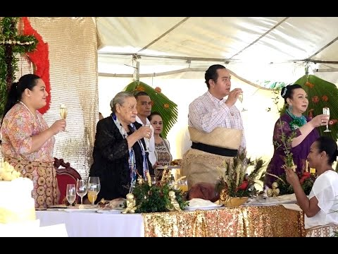 Her Majesty The Queen Mother Halaevalu Mata'aho 90th Birthday Celebration