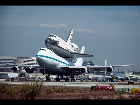 NASA Boeing 747-123 [N905NA] with Space Shuttle Endeavor at LAX
