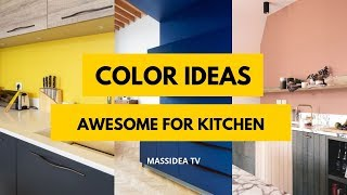 65  Awesome Color Ideas For Kitchen From Pinterest