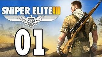 Let's Play Sniper Elite 3 Gameplay German Deutsch PS4 Part 1