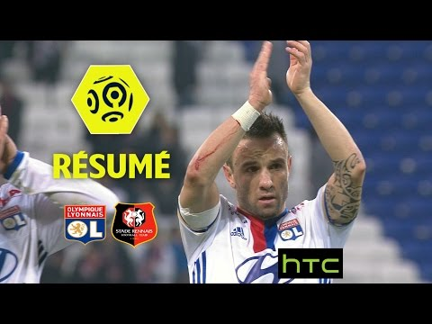 Olympique Lyonnais - Stade Rennais FC (1-0)  - Résumé - (OL - SRFC) / 2016-17