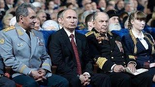 Putin dirige unas maniobras militares en las que se simula un ataque nuclear masivo