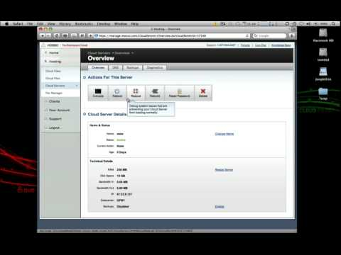 Introduction to Rackspace Cloud Servers
