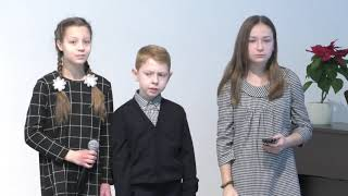 Звёздочки ярко сияли - Поют дети церкви Адвентистов Подольска