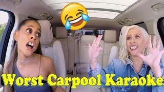 Ariana Grande & Christina Aguilera - Worst Carpool Karaoke Ever