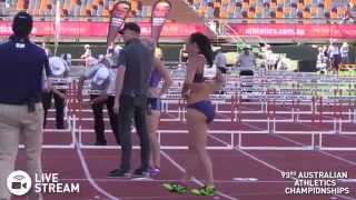 Featured Athlete   Michelle Jenneke 100mH (12.82) Nationals Final