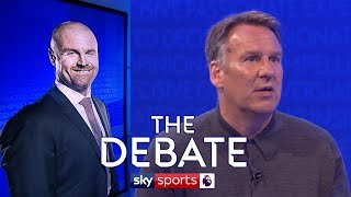 Does Antonio Conte have a harder job than Sean Dyche? | Merson & Wise | The Debate