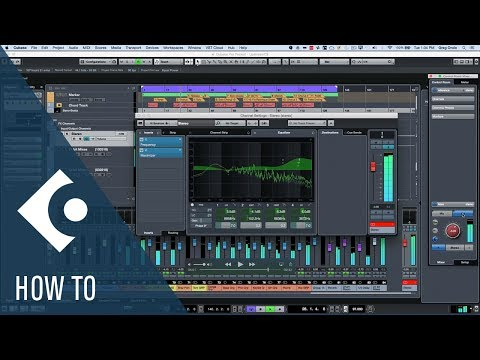 How to Use a Reference Mix with Control Room in Cubase | Q&A with Greg Ondo