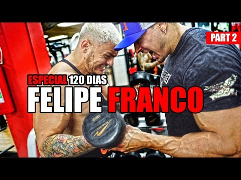 FE FRANCO PRO NA ACADEMIA COM TOGURO | TREINO MOTIVACIONAL DE BICEPS