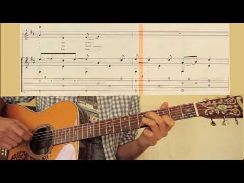 How to play 'Going to California' by Led Zeppelin with TAB (half speed version)