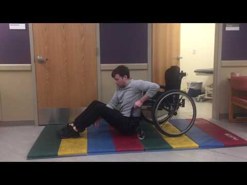 Wheelchair Wednesday 46 Ground To Chair Transfer With