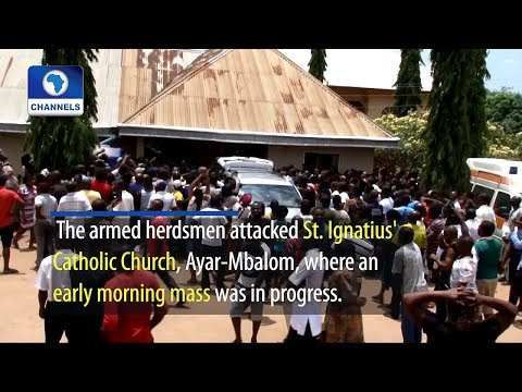 Suspected Herdsmen Kill 13 Worshippers, Two Priests In Benue Church