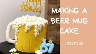 #4 Cách Làm Bánh Ly Bia | Making a Beer Mug Cake