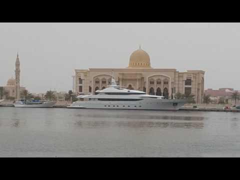 Royal Yachts in Sharjah اليخوت الفاخرة في الشارقة