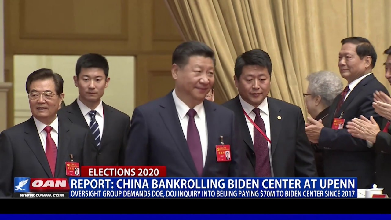 Report: China bankrolling Biden Center at UPenn