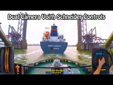 Tugboat Dual Camera #4 - Voith Schneider Controls
