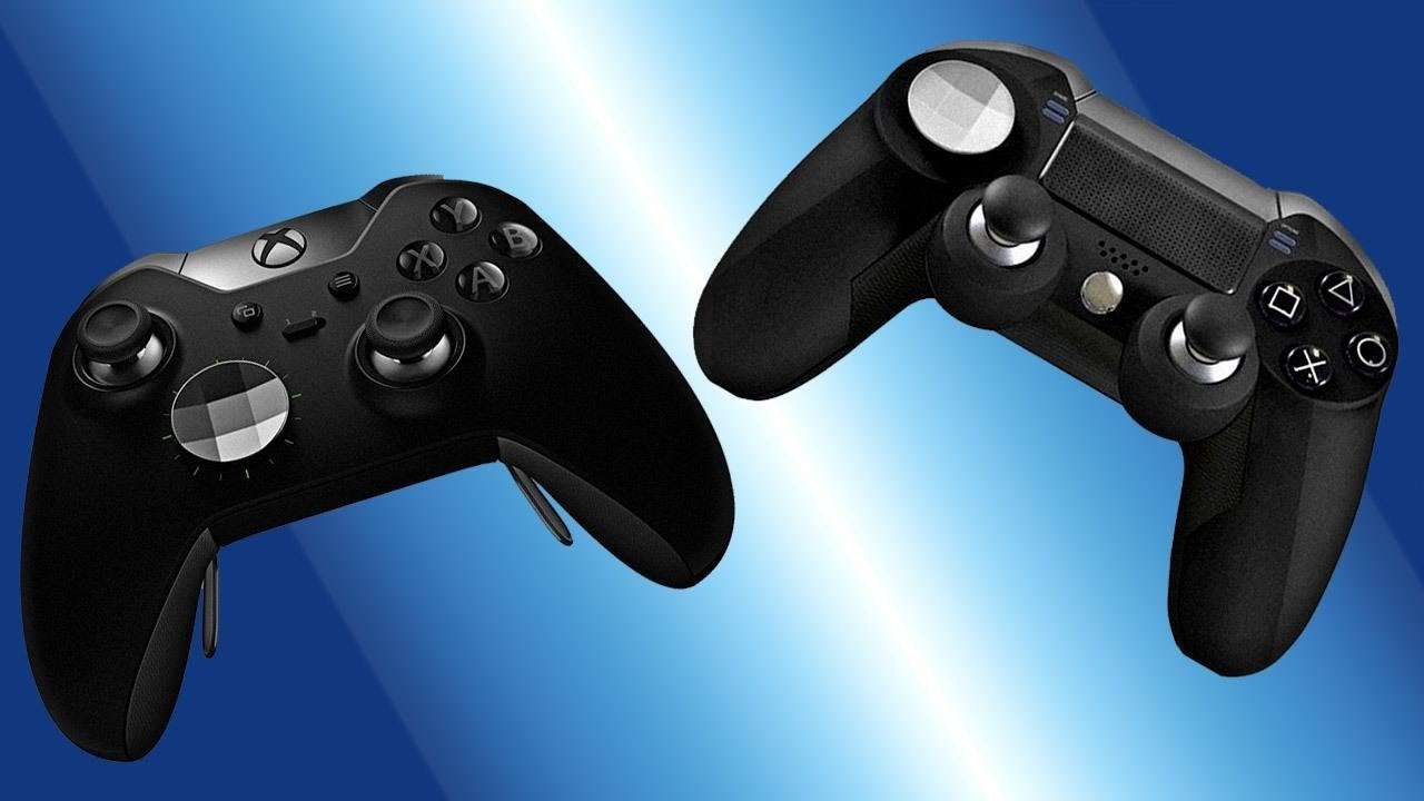 Ps4 Controller Like Xbox One Elite Two New Style Emio Blue Colour Download