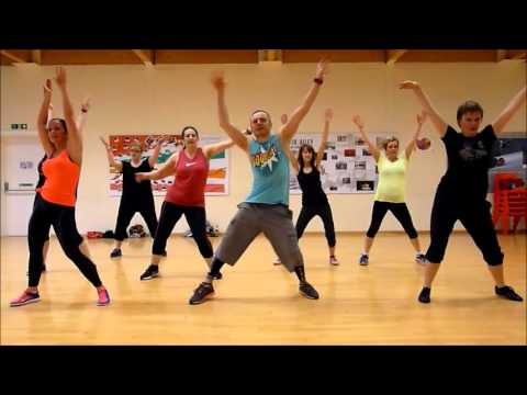 Low - Flo Rida ft. T-Pain Zumba class leg...
