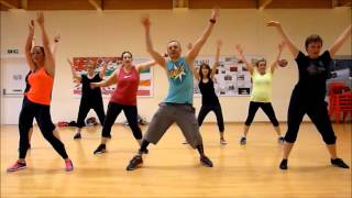 Low - Flo Rida ft. T-Pain Zumba class leg workout