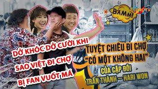 Dở khóc dở cười khi sao Việt đi chợ bị fan vuốt má, chen lấn gây náo loạn cả khu chợ