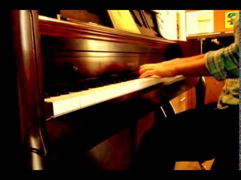 Transparent theme song on piano