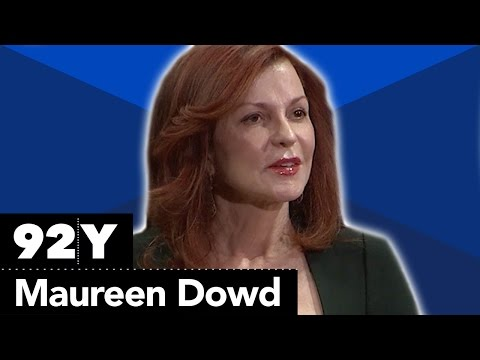 Maureen Dowd and Arianna Huffington on the 2016 Presidential election