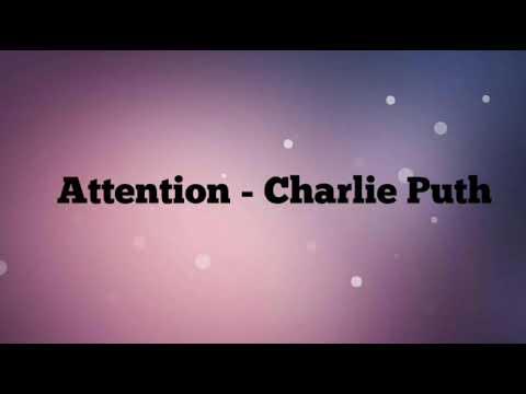 Charlie Puth - Attention Instrumental+lirik (Karaoke Tanpa Vokal)