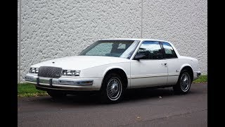 1986 Buick Riviera White