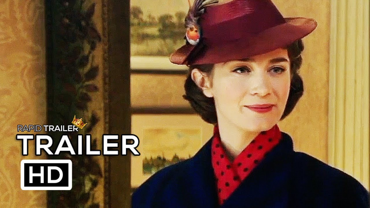 New Trailer: 'Mary Poppins Returns,' With Emily Blunt
