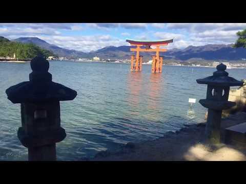 Travel to Osaka , Hiroshima and Miyajima