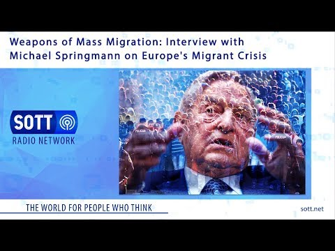 Weapons of Mass Migration: Interview with Michael Springmann on Europe's Migrant Crisis