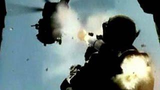 НАШ Ми 35 Сбит в Сирии Видео