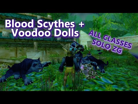 SOLO Your Blood Scythe (or Voodoo Doll) ALL CLASSES - ZG WoW Classic Phase 4
