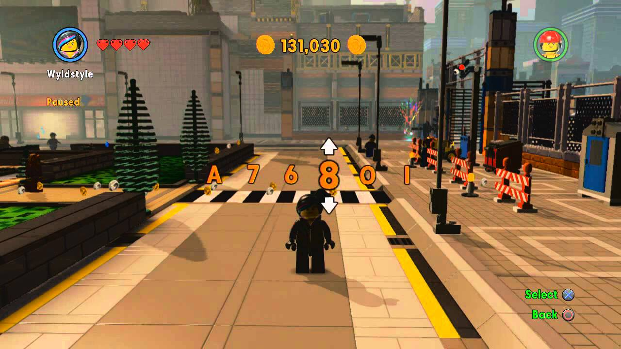 The <b>LEGO Movie Videogame</b> - <b>Cheat Codes</b> - YouTube