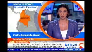 """Carlos Fernando Galán analiza en NTN24 la liberación de alias """"Popeye"""""""