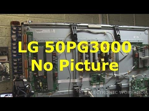 LG 50PG3000 No Picture Pt 1