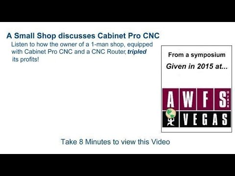 Cabinet Pro Software - described by a Cabinet Pro Customer - YouTube