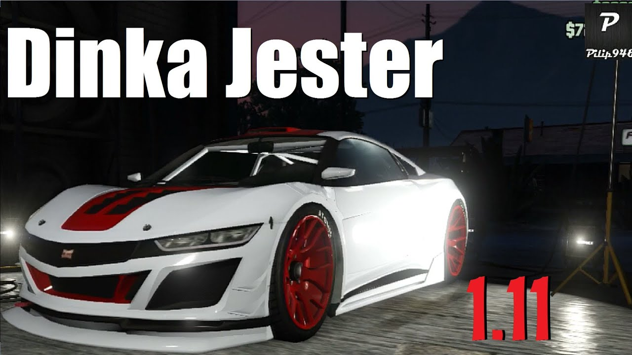 gta 5 update la nouvelle voiture dinka jester youtube. Black Bedroom Furniture Sets. Home Design Ideas