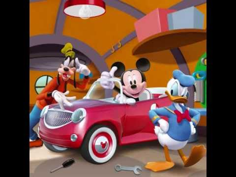 mickey mouse clubhouse mickey s car part 1 youtube. Black Bedroom Furniture Sets. Home Design Ideas