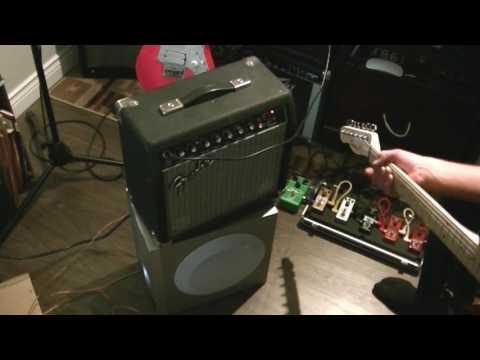 Fender Bullet 15 DSP 8 inch Subwoofer Experiment