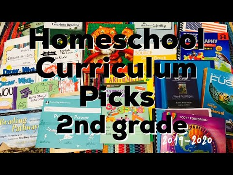 Repeat Homeschool Curriculum Choices 2018-2019 || 1st Grade