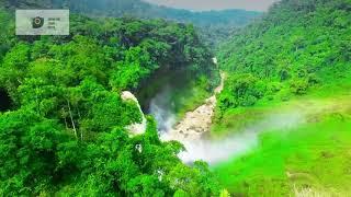 Chutes d Ekom-mkam (tourisme au Cameroun)