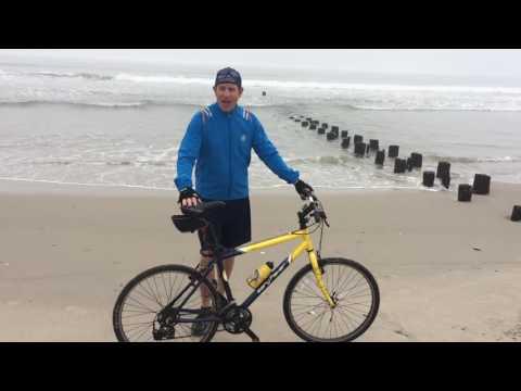 Biking rockaway beach