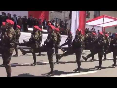 Desfile Cívico Militar - Policía Nacional del Perú (CAJAMARCA 2016)